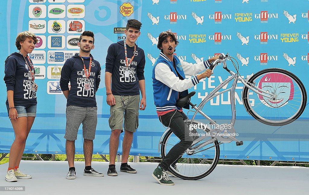 Francesco Biggio attends 2013 Giffoni Film Festival photocall on July 19, 2013 in Giffoni Valle Piana, Italy.