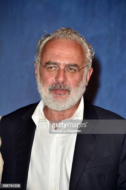 Francesco Bonami attend the premiere of 'Franca Chaos And Creation' during the 73rd Venice Film Festival at Sala Giardino on September 2 2016 in...
