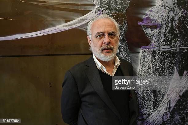 Francesco Bonami attends the 'Sigmar Polke' Exhibition opening at Palazzo Grassi on April 16 2016 in Venice Italy The exhibition will open from April...