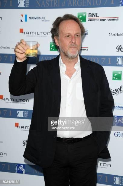Francesco Bruni attends Nastri D'Argento 2017 Awards Ceremony on July 1 2017 in Taormina Italy