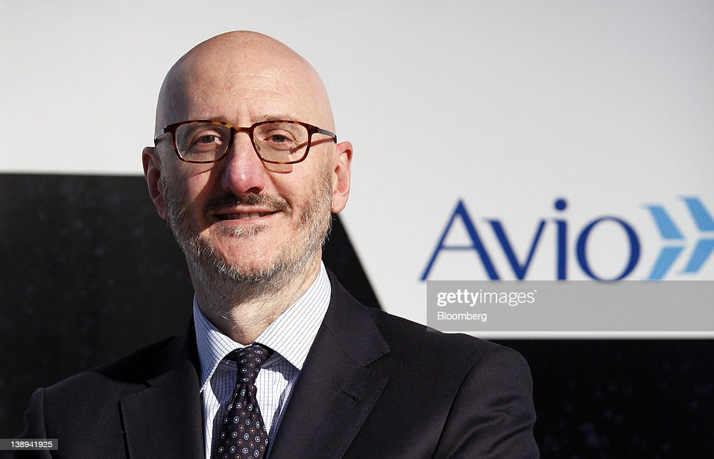 Francesco Caio, chief executive officer of Avio SpA, poses for a photograph at the company's headquarters in Colleferro, near Rome, Italy, on Monday, Feb. 13, 2012. Avio, an Italian provider of aerospace services and equipment including gearboxes for aircraft engines, aims to sell shares to the public when the market improves, Caio said in an interview. Photographer: Alessia Pierdomenico/Bloomberg via Getty Images