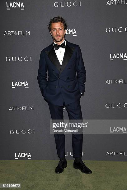 Francesco Carrozzini attends the 2016 LACMA Art Film Gala Honoring Robert Irwin and Kathryn Bigelow Presented By Gucci at LACMA on October 29 2016 in...