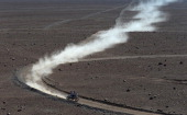Francesco Chaleco Lopez Contardo of Chile competes in stage 13 from Copiapo to La Serena during the 2013 Dakar Rally on January 18 2013 in Copiapo...