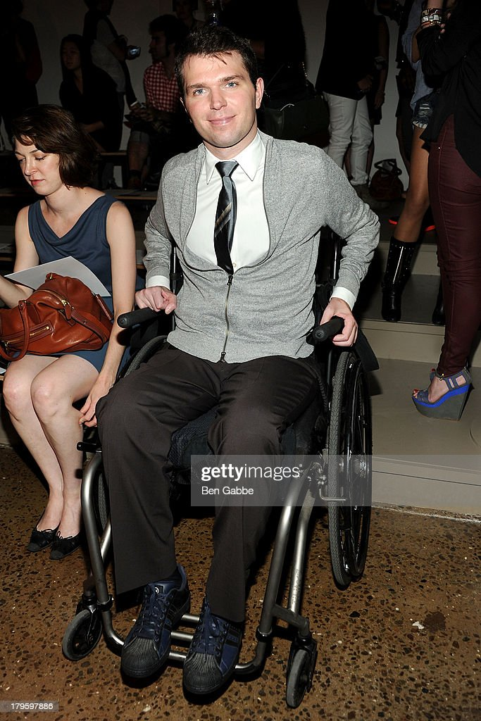 Francesco Clark attends the Costello Tagliapietra fashion show during MADE Fashion Week Spring 2014 at Milk Studios on September 5, 2013 in New York City.