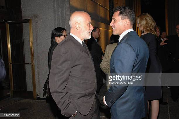 Francesco Clemente and Andre Balazs attend VANITY FAIR Tribeca Film Festival Party hosted by GRAYDON CARTER ROBERT DE NIRO and RONALD PERELMAN at The...