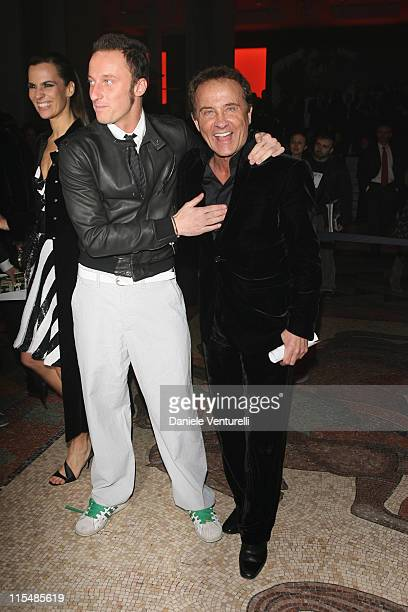 Francesco Facchinetti and Roby Facchinetti during Milan Fashion Week Fall/Winter 2007 Armani After Party in Milan Italy