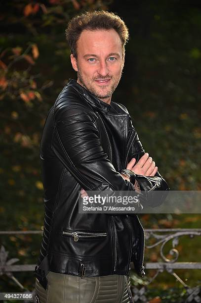 Francesco Facchinetti attends 'Belli Di Papa'' Photocall on October 26 2015 in Milan Italy