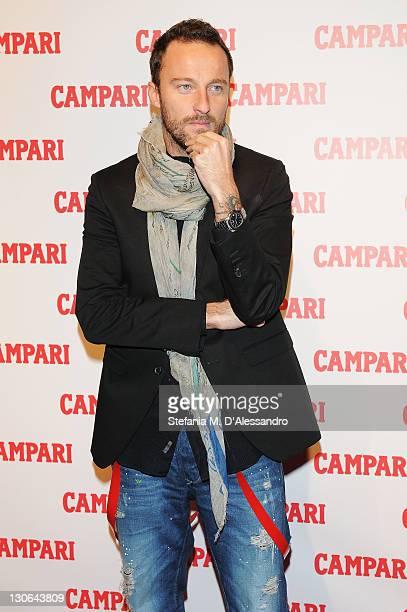 Francesco Facchinetti attends Campari 2012 Calendar Launch at the Campari Headquarters on October 27 2011 in Milan Italy