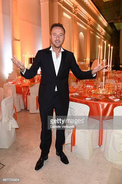 Francesco Facchinetti attends Gala Telethon during the 9th Rome Film Festival at Auditorium Parco Della Musica on October 23 2014 in Rome Italy