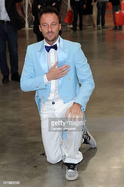 Francesco Facchinetti attends the 2010 Convivio held at Fiera Milano City on June 10 2010 in Milan Italy
