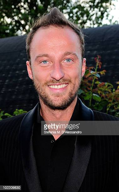 Francesco Facchinetti attends the Missoni Cocktail Party as part of the Milan Fashion Week Menswear S/S 2011 on June 18 2010 in Milan Italy