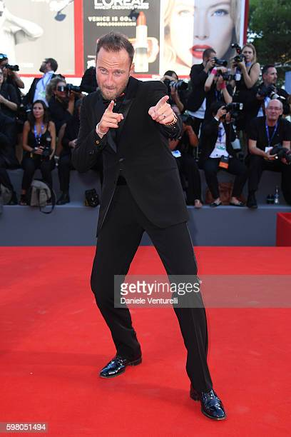 Francesco Facchinetti attends the opening ceremony and premiere of 'La La Land' during the 73rd Venice Film Festival at Sala Grande on August 31 2016...