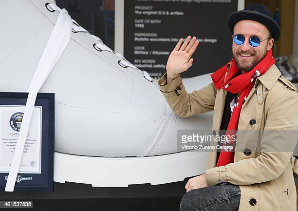 Francesco Facchinetti attends the OXS Event during the Pitti Immagine Uomo 87 on January 14 2015 in Florence Italy