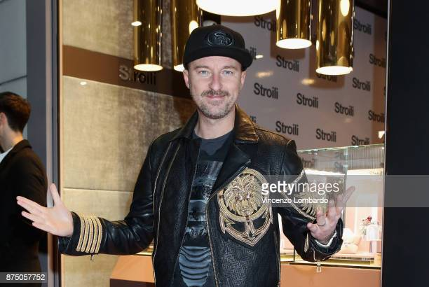 Francesco Facchinetti attends the Stroili Christmas Party on November 16 2017 in Milan Italy