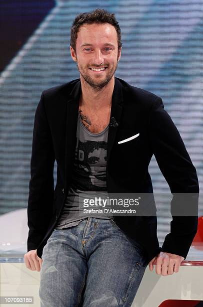 Francesco Facchinetti attends the X Factor Italian TV Show Final Press Conference on November 23 2010 in Milan Italy