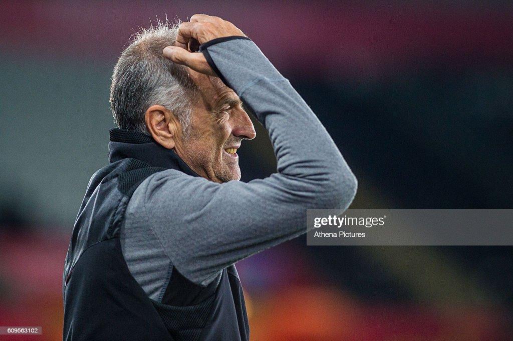 Swansea City v Manchester City - EFL Cup Third Round