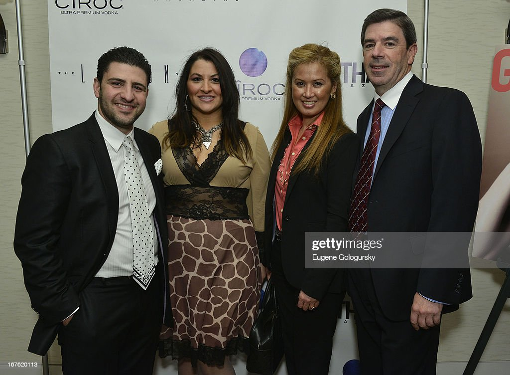 Francesco Marasco, Patricia, Iuliucci, Terry Waldan and Jim Moreno attend the Gotham Magazine Celebration with Cover Star Isla Fisher with Ciroc Vodka on April 26, 2013 in New York City.