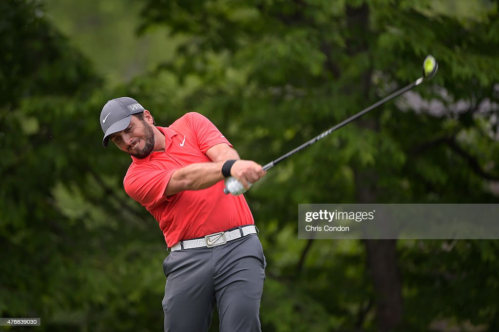 <a gi-track='captionPersonalityLinkClicked' href=/galleries/search?phrase=Francesco+Molinari&family=editorial&specificpeople=637481 ng-click='$event.stopPropagation()'>Francesco Molinari</a> of Italy tees off on the 14th hole during the final round of the Memorial Tournament presented by Nationwide at Muirfield Village Golf Club on June 7, 2015 in Dublin, Ohio.