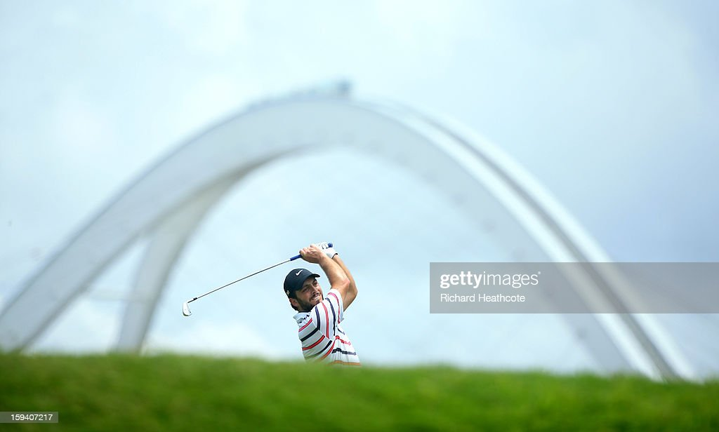 Francesco Molinari of Itlay in action during the final round of the Volvo Champions at Durban Country Club on January 13, 2013 in Durban, South Africa.