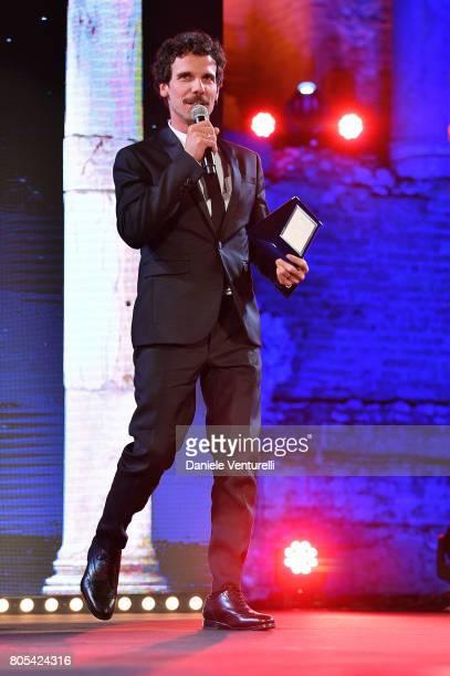 Francesco Montanari attends Nastri D'Argento 2017 Awards Ceremony on July 1 2017 in Taormina Italy
