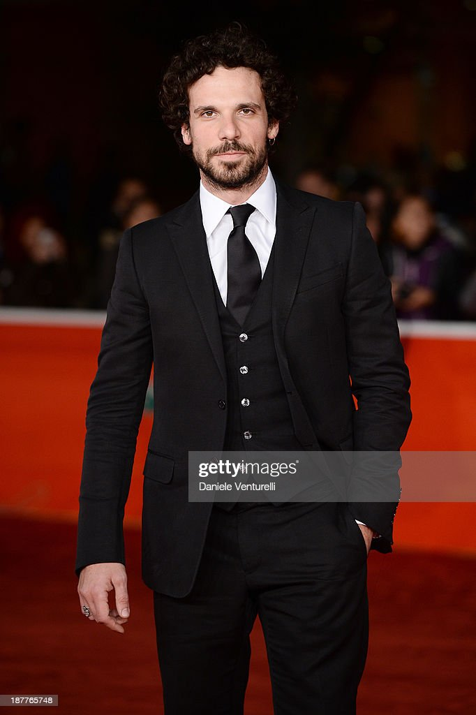 Francesco Montanari attends 'Out Of The Furnace' Premiere during The 8th Rome Film Festival on November 12, 2013 in Rome, Italy.
