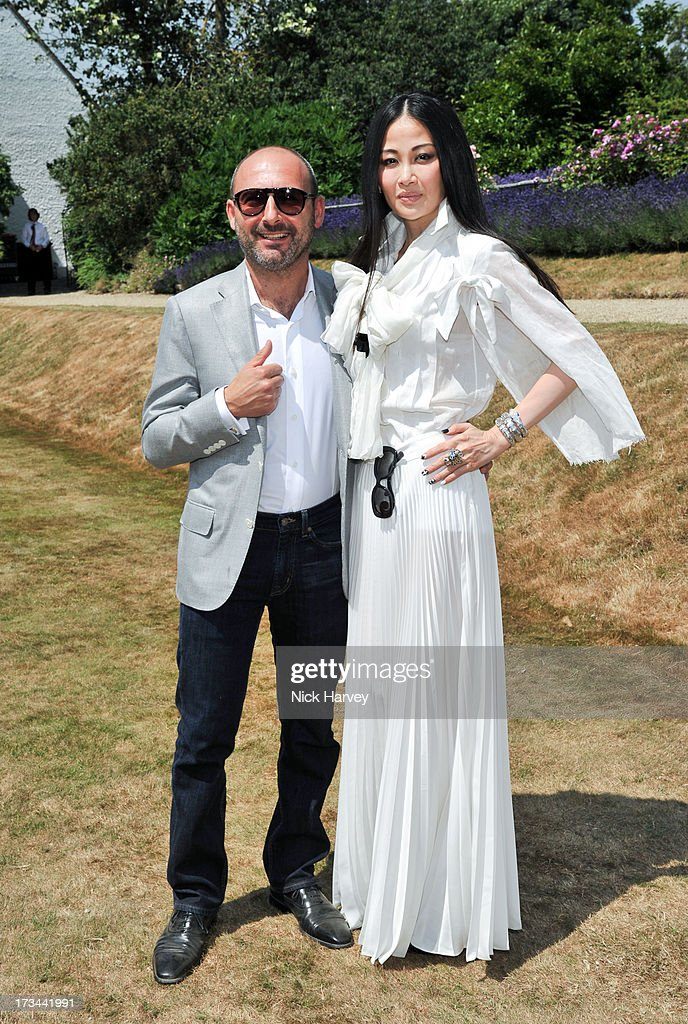 Francesco Paolillo and Karen Ng attend the Cartier Style et Luxe at Goodwood Festival of Speed on July 14, 2013 in Chichester, England.