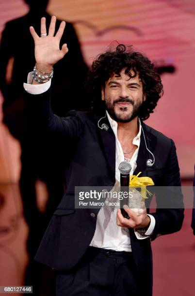 Francesco Renga attends 'Che Tempo Che Fa' tv show at Rai Milan Studios on May 7 2017 in Milan Italy