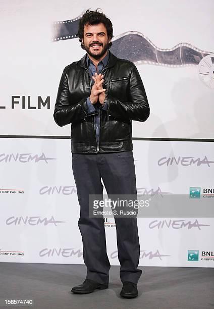 Francesco Renga attends the 'Razza Bastarda' photocall during the 7th Rome Film Festival at Auditorium Parco Della Musica on November 17 2012 in Rome...