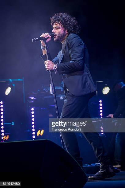Francesco Renga Performs In Milan on October 15 2016 in Milan Italy