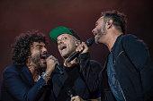 Nek, Max Pezzali And Francesco Renga Perform At Lucca...