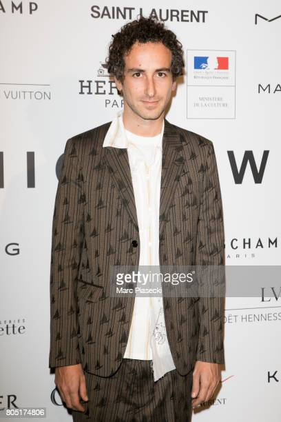 Francesco Risso attends the 'ANDAM 2017' Prizewinner cocktail at Ministere de la Culture on June 30 2017 in Paris France