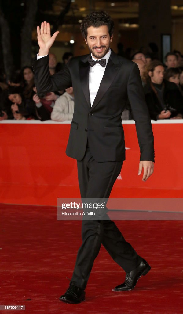 <a gi-track='captionPersonalityLinkClicked' href=/galleries/search?phrase=Francesco+Scianna&family=editorial&specificpeople=5938824 ng-click='$event.stopPropagation()'>Francesco Scianna</a> attends 'Come Il Vento' Premiere during The 8th Rome Film Festival on November 10, 2013 in Rome, Italy.