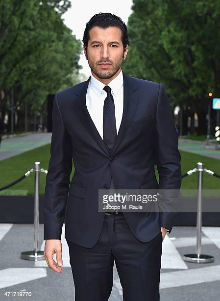 Francesco Scianna attends the Giorgio Armani 40th Anniversary Silos Opening And Cocktail Reception on April 30 2015 in Milan Italy