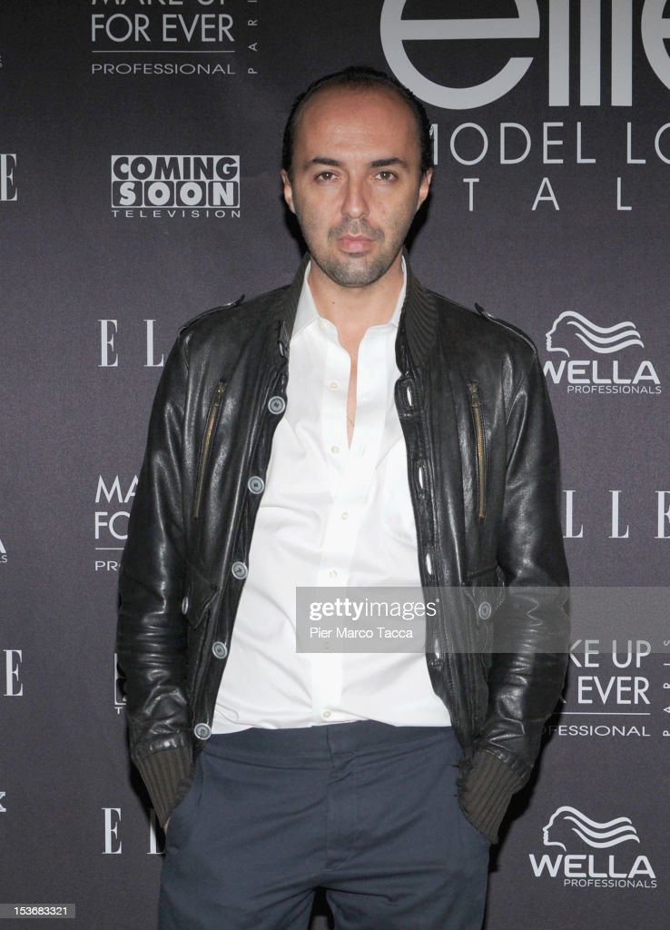 Francesco Scognamiglio attends 2012 Elite model look Italia photocall on October 8, 2012 in Milan, Italy.