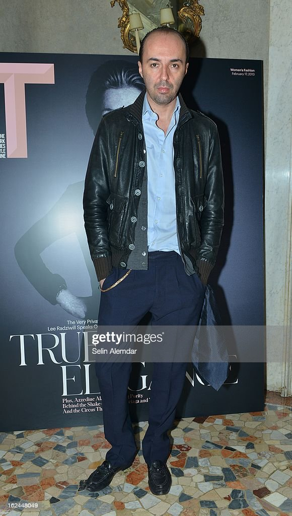 Francesco Scognamiglio attends Deborah Needleman's New York Times inaugural issue party during Milan Fashion Week Womenswear Fall/Winter 2013/14 on February 23, 2013 in Milan, Italy.