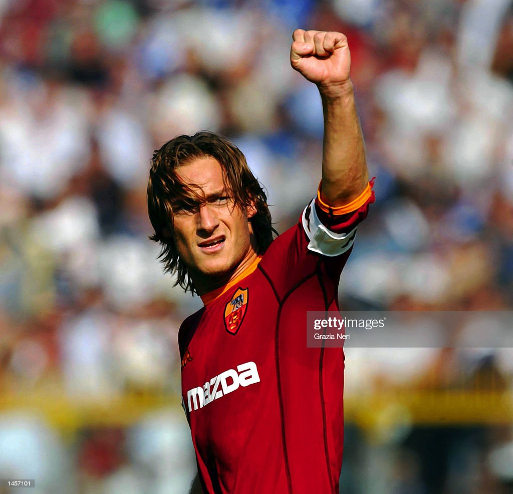 Francesco Totti of Roma
