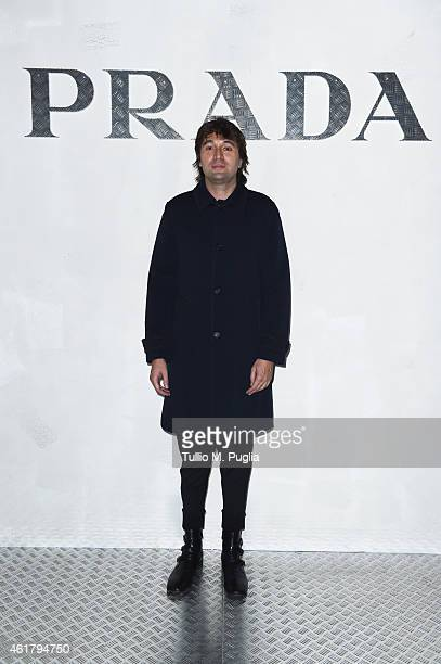 Francesco Vezzoli attends the Prada Journal event during the Milan Menswear Fashion Week Fall Winter 2015/2016 on January 19 2015 in Milan Italy