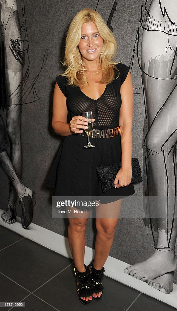 Franchesca Hull attends the French Connection x Rankin 'The Full Service' #SketchToStore campaign launch at Rankin Studios on July 17, 2013 in London, England.