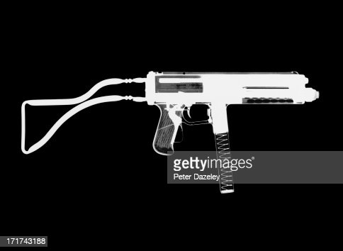 Franchi LF-57 Sub Machine Gun X-ray