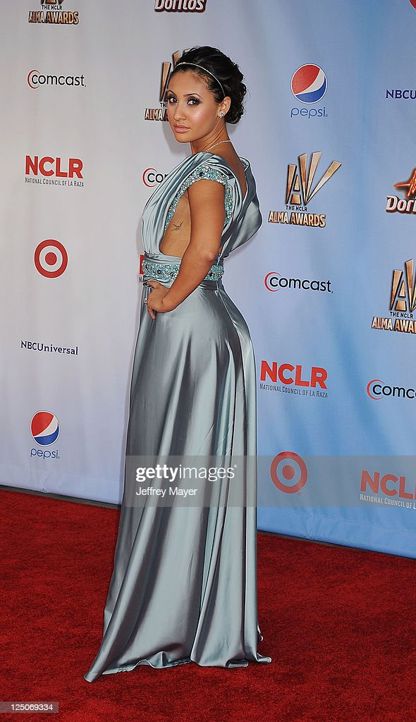 Francia Raisa attends the 2011 NCR ALMA Awards at Santa Monica Civic Auditorium on September 10 2011 in Santa Monica California