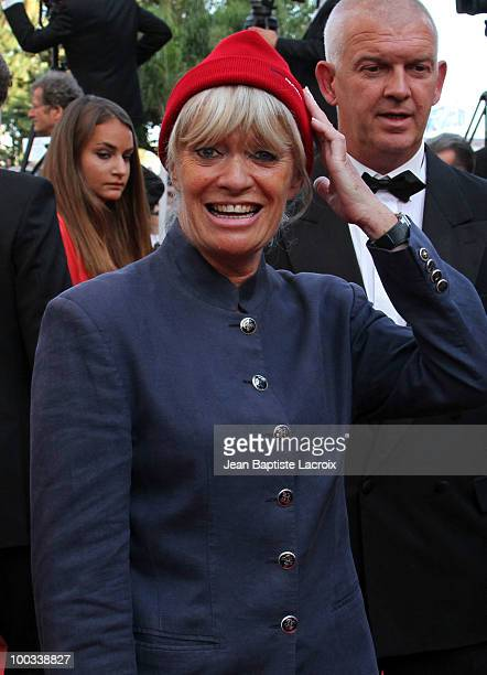 Francine Cousteau attends the 'Exodus Burnt By The Sun 2' Premiere held at the Palais des Festivals during the 63rd Annual International Cannes Film...