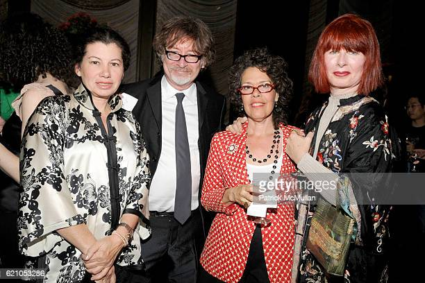 Francine Gardener Robert Bentley Dana Zemsky and Linda O'Keefe attend METROPOLITAN HOME Design 100 Party at The Four Seasons Restaurant on May 20...