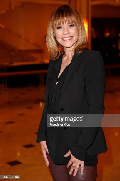 Francine Jordi attends after the tv show 'Willkommen bei Carmen Nebel' at Velodrom on May 20 2017 in Berlin Germany