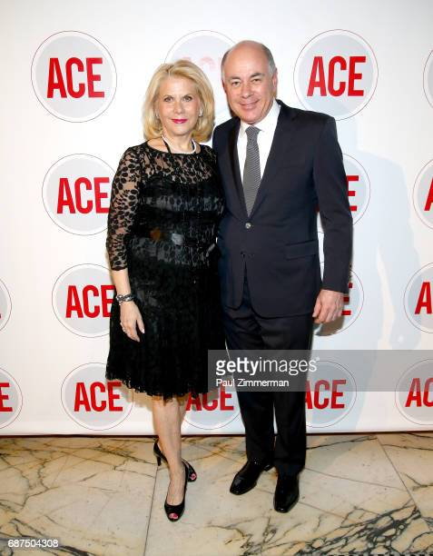Francine LeFrak and Rick Friedberg attend the 2017 ACE Gala at Capitale on May 23 2017 in New York City