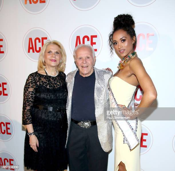 Francine LeFrak Henry Buhl and 2017 Miss USA Kara McCullough attend the 2017 ACE Gala at Capitale on May 23 2017 in New York City
