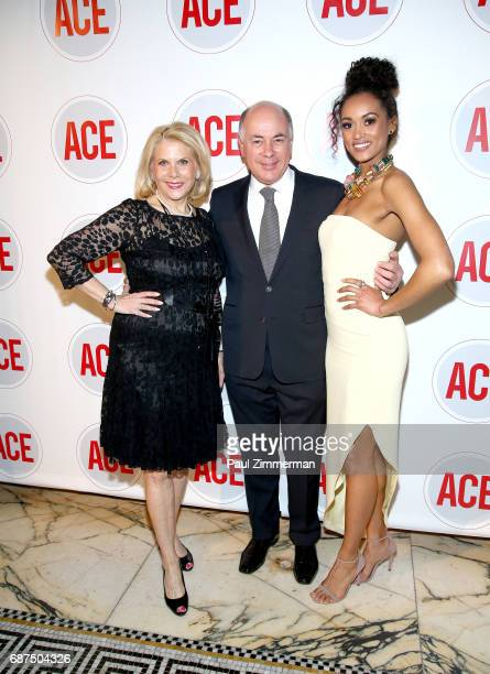 Francine LeFrak Rick Friedberg and 2017 Miss USA Kara McCullough attend the 2017 ACE Gala at Capitale on May 23 2017 in New York City