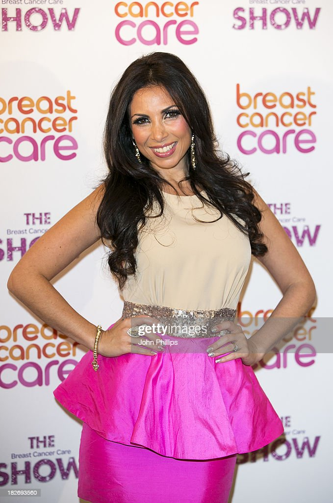 Francine Lewis attends the photocall ahead of the Breast Cancer Care Fashion Show at Grosvenor House, on October 2, 2013 in London, England.
