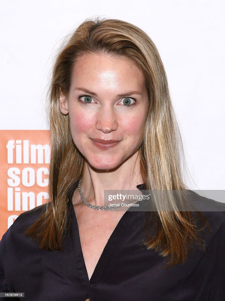 Francine Swift attends the 'Stoker' New York Screening at The Film Society of Lincoln Center, Walter Reade Theatre on February 27, 2013 in New York City.