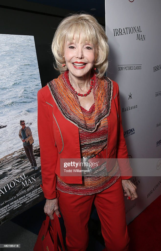 Francine York attends the Sony Pictures Classics Premiere For 'Irrational Man' Hosted By Svedka Vodka, Hakkasan And Sabra at The WGA Theater on July 9, 2015 in Beverly Hills, California.