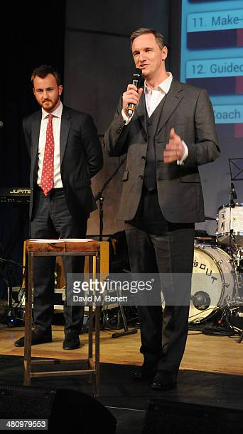 Francis Boulle and Mark Lever attend Spectrum 2014 an annual fundraising event in support of the National Autistic Society to launch World Autism...
